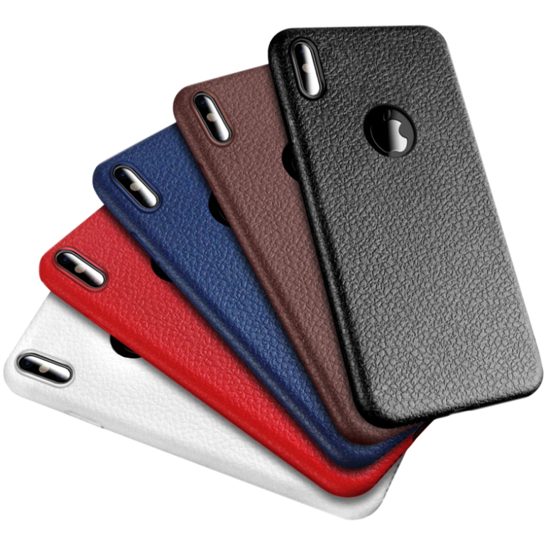 Leather texture TPU case for IPHONE 6/7/8 Cover